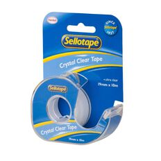 Sellotape Crystal Dispenser 19mm x 10m Clear