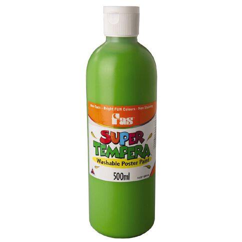FAS Paint Super Tempera 500ml Leaf Green 500ml