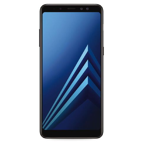 2degrees Samsung Galaxy A8+ Black