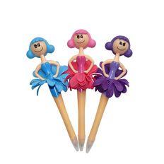 Novelty Pen Fairy Doll Assorted