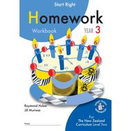 SR Year 3 Homework Workbook
