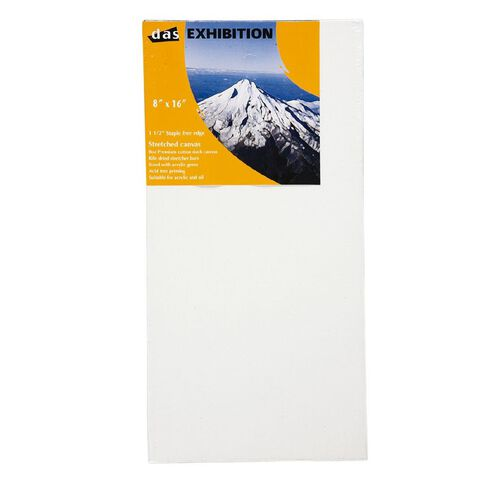 DAS 1.5 Exhibition Canvas 8 x 16in White