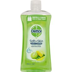 Dettol Liquid Soap Handwash Refill Lemon & Lime 500ml
