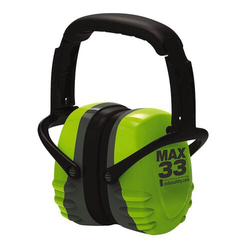 Esko Max33 Folding Earmuff Class 5 33dB AS/NZS 1270:2002