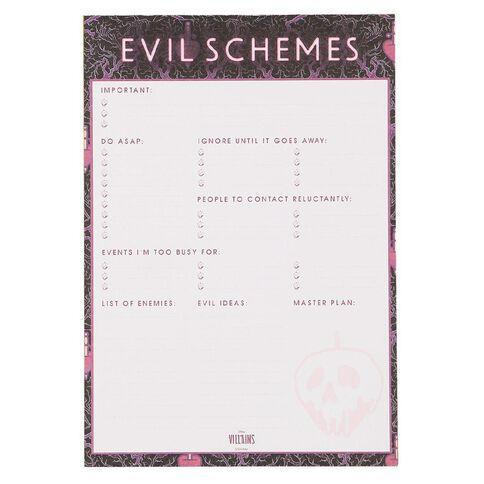 Disney Villains Memo Pad A5