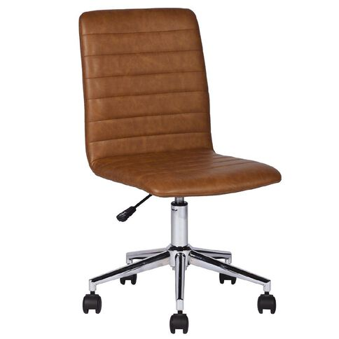 Workspace Lewis Leather-Look Chair