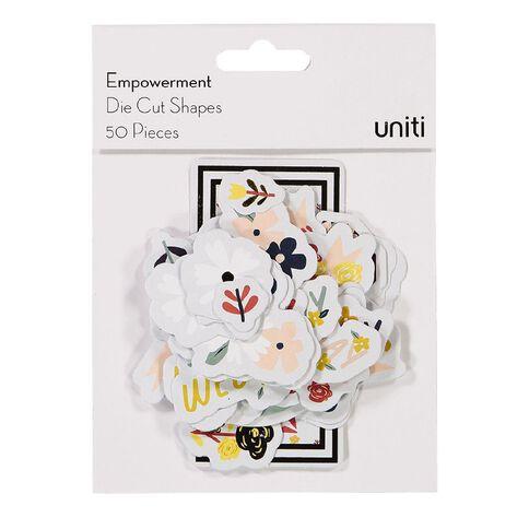 Uniti Empowerment Cardstock Die Cut Shapes