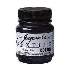 Jacquard Textile Colours 66.54ml Navy