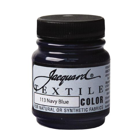 Jacquard Textile Colours 66.54ml Navy