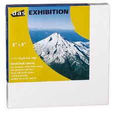DAS 1.5 Exhibition Canvas 8 x 8in White