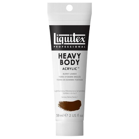 Liquitex Hb Acrylic 59ml Burnt Umber Brown