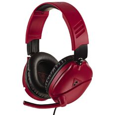 Turtle Beach Headset Recon 70 Red Red