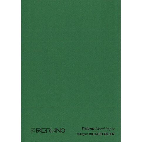 Fabriano Tiziano Pastel Paper 50cm x 65cm Billiard Green