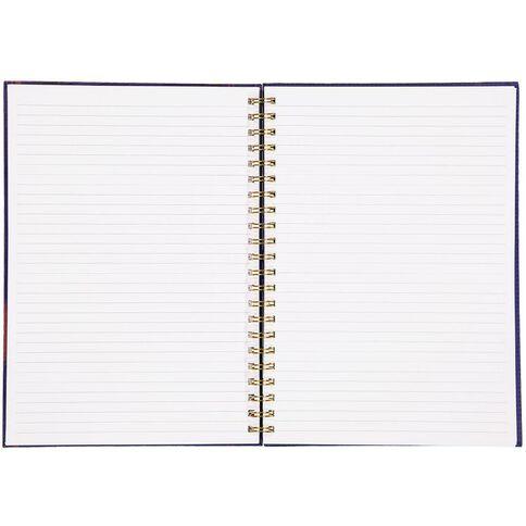 Avengers Captain Marvel Spiral Notebook A4