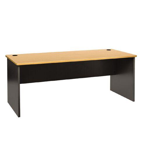 Jasper J Emerge Desk 1800 Beech/Ironstone