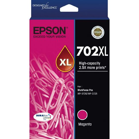 Epson 702XL DURABrite Ink Magenta (950 Pages)