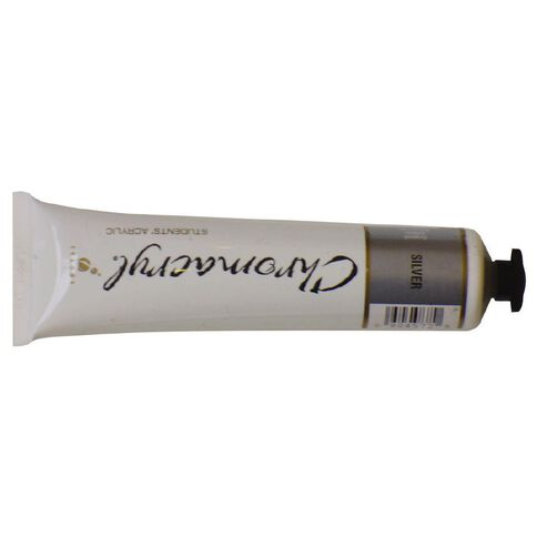 Chromacryl Paint 75ml Silver Silver