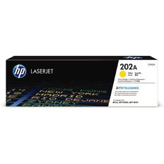 HP 202A LaserJet Toner Yellow (1300 Pages)