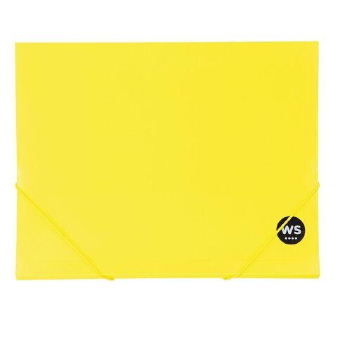 WS Wallet PP Elastic Yellow A4
