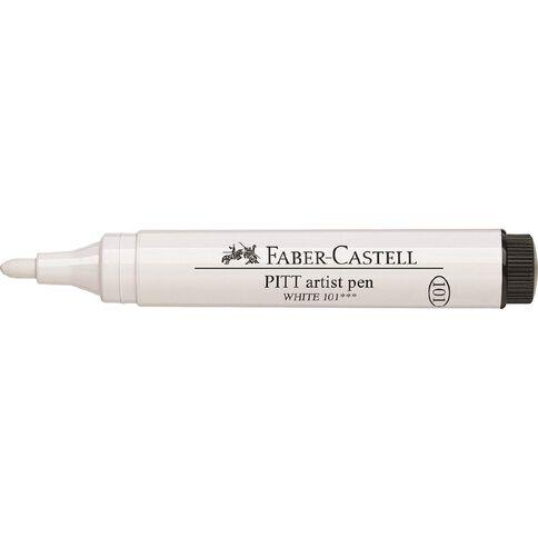 Faber-Castell Pitt Artist Pen Big Brush White