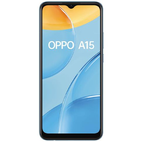 OPPO A15 32GB 4G  - Mystery Blue