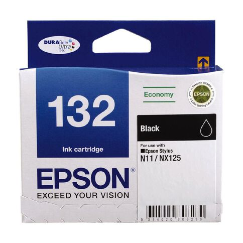 Epson Ink 132 Black (185 Pages)