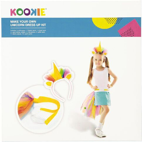 Kookie Unicorn Dress Up Kit