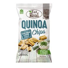 Eat Real Eat Real Quinoa Chips Sour Cream & Chives 80g