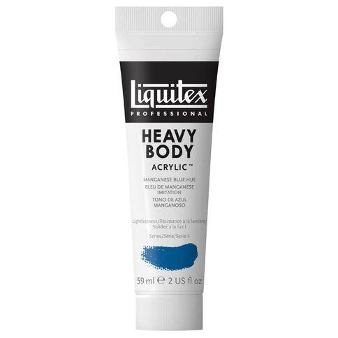 Liquitex Heavy Body Acrylic 59ml Manganese Hue Blue Blue