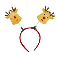 Artwrap Christmas Bobble Head Headband Assorted