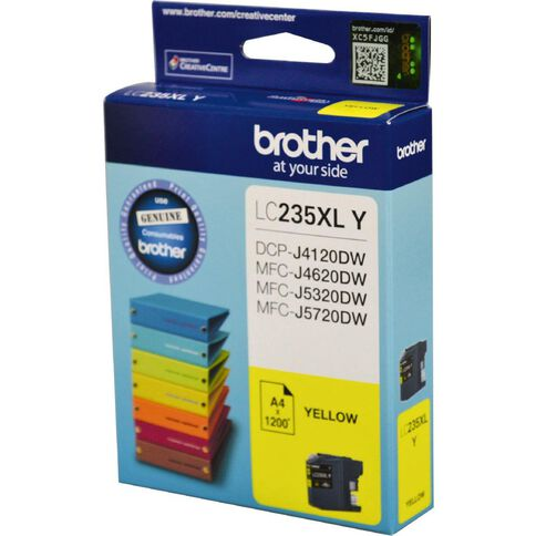 Brother Ink LC235XL Yellow (1200 Pages)