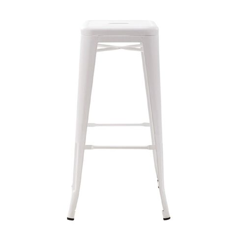 Workspace Metal Stool 76cm White