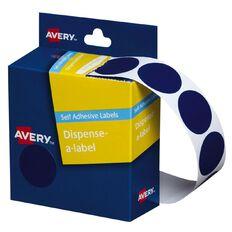 Avery Blue Dispenser Dot Stickers 24mm diameter 500 Labels