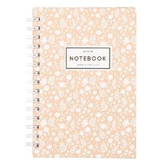 Uniti Winter Bloom Hardcover Notebook Spiral A5