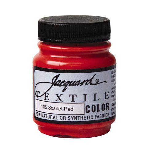 Jacquard Textile Colours 66.54ml Scarlet Red
