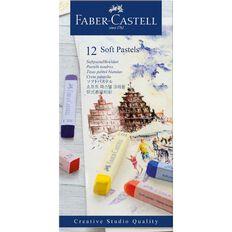 Faber-Castell Creative Studio Soft Pastels 12 Pack
