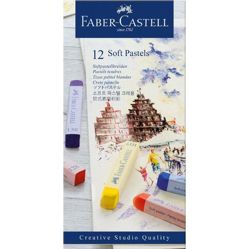 Faber-Castell Soft Pastels 12 Pack