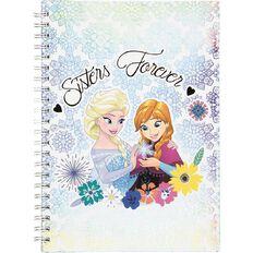 Frozen Spiral Notebook A4