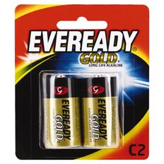 Eveready Gold Batteries C 2 Pack