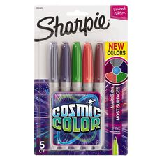 Sharpie Cosmic Colour Markers Multi-Coloured 5 Pack