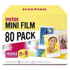 Fujifilm Instax Mini Film Limited Edition 80 Pack