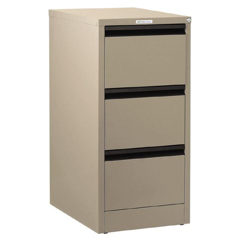 Precision Classic Filing Cabinet 3 Drawer Dune Beige