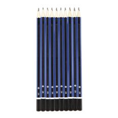 WS Pencil 2B End Cap 10 Pack