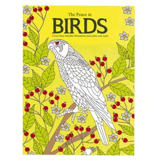 The Peace In Birds Colouring Book