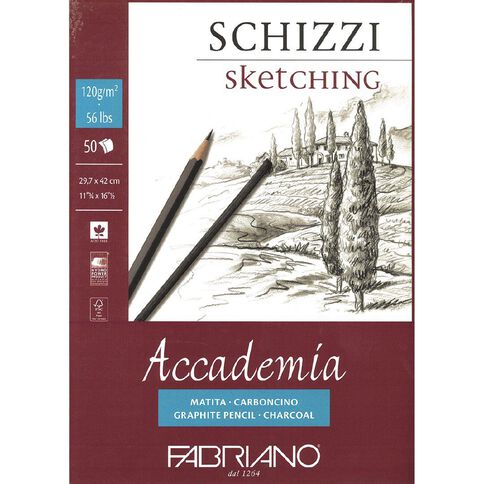 Fabriano Accademia 120gsm A3 A3