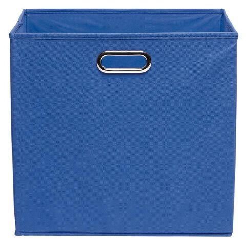 Workspace Storage Box Folding 9 & 12 Cube Blue