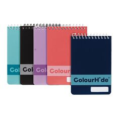 ColourHide My Pocket Notebook 96 Page 5 Pack