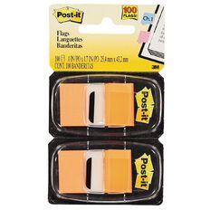 Post-It Flags 2 Pack Orange