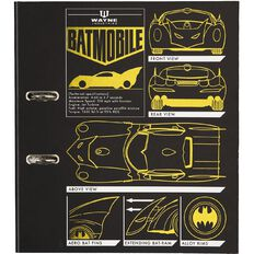 Batman Lever Arch A4