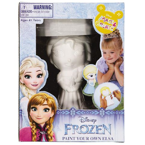 Disney Frozen Paint Your Own Elsa